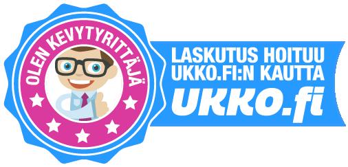 Olen kevytyrittäjä. Laskutus hoituu Ukko.fi:n kautta