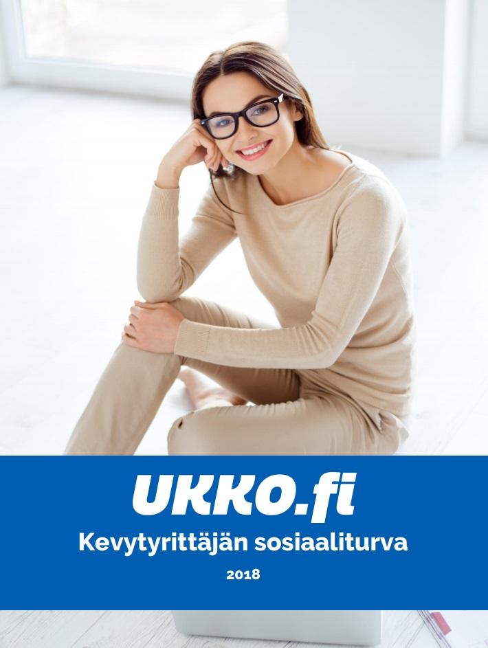 UKKO.fi kevytyrittäjän sosiaaliturva 2018 opas