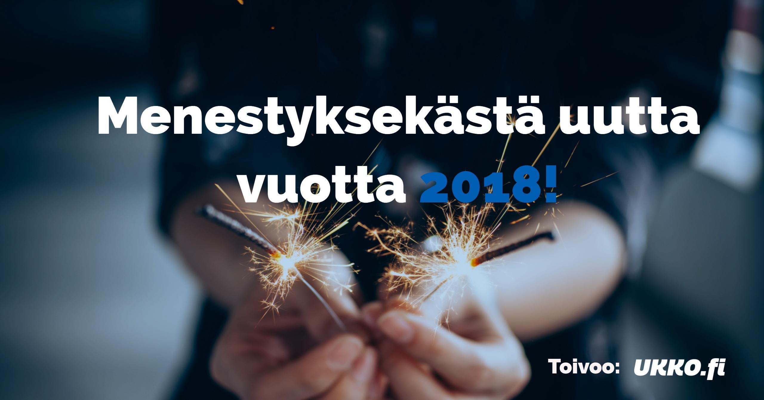 Uusi vuosi 2018