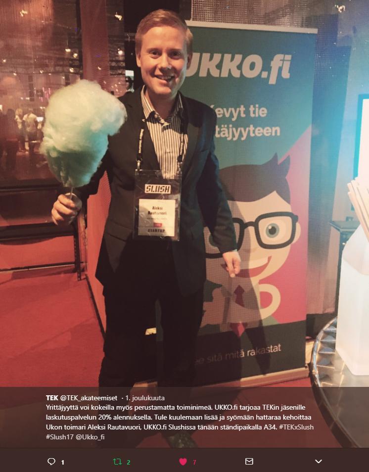 Aleksi Rautavuori - UKKO.fi Slush 2017