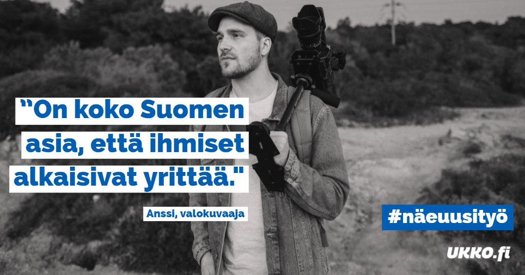 Näe uusi työ-kampanja #näeuusityö, UKKO.fi