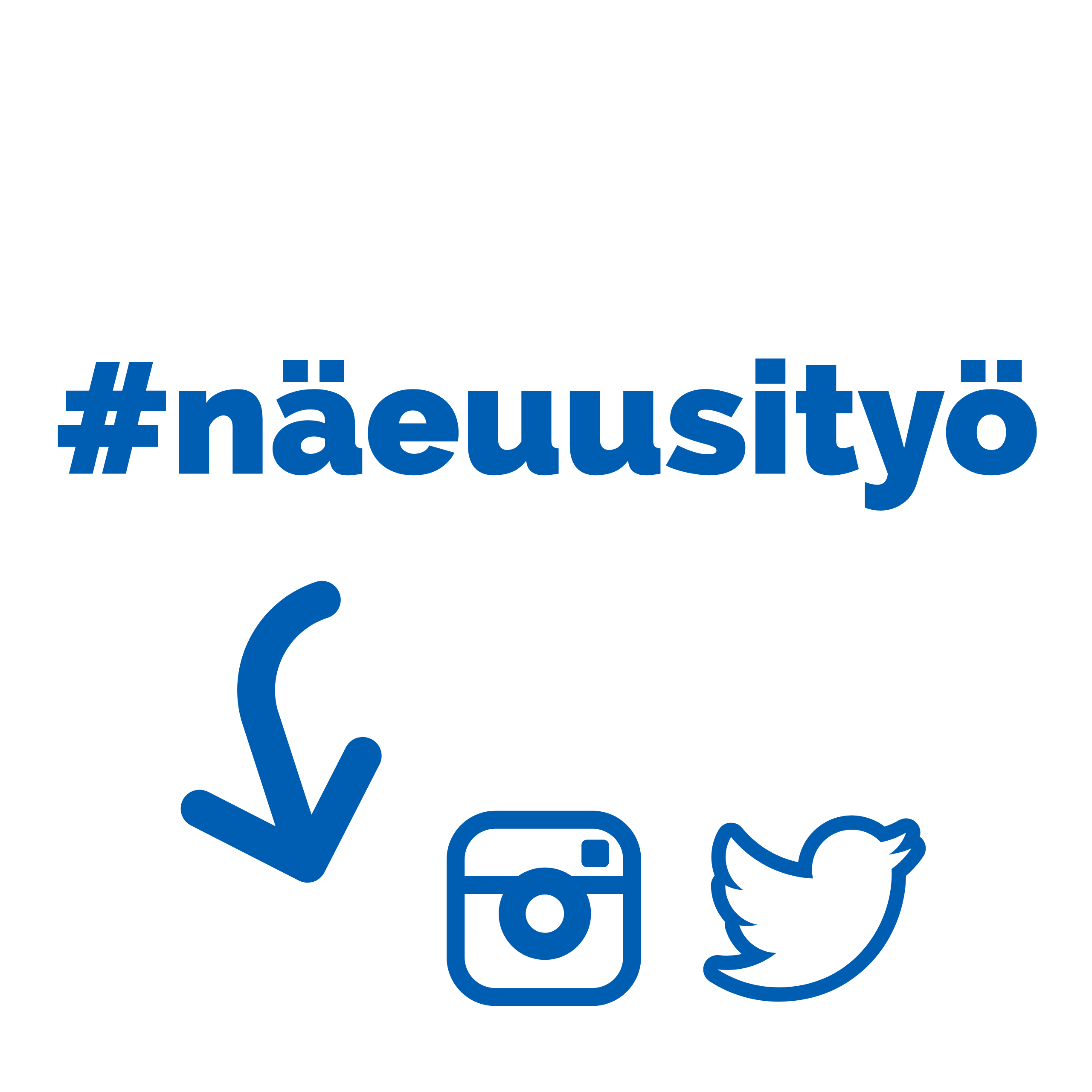 Näe uusi työ #näeuusityö UKKO.fi kampanja