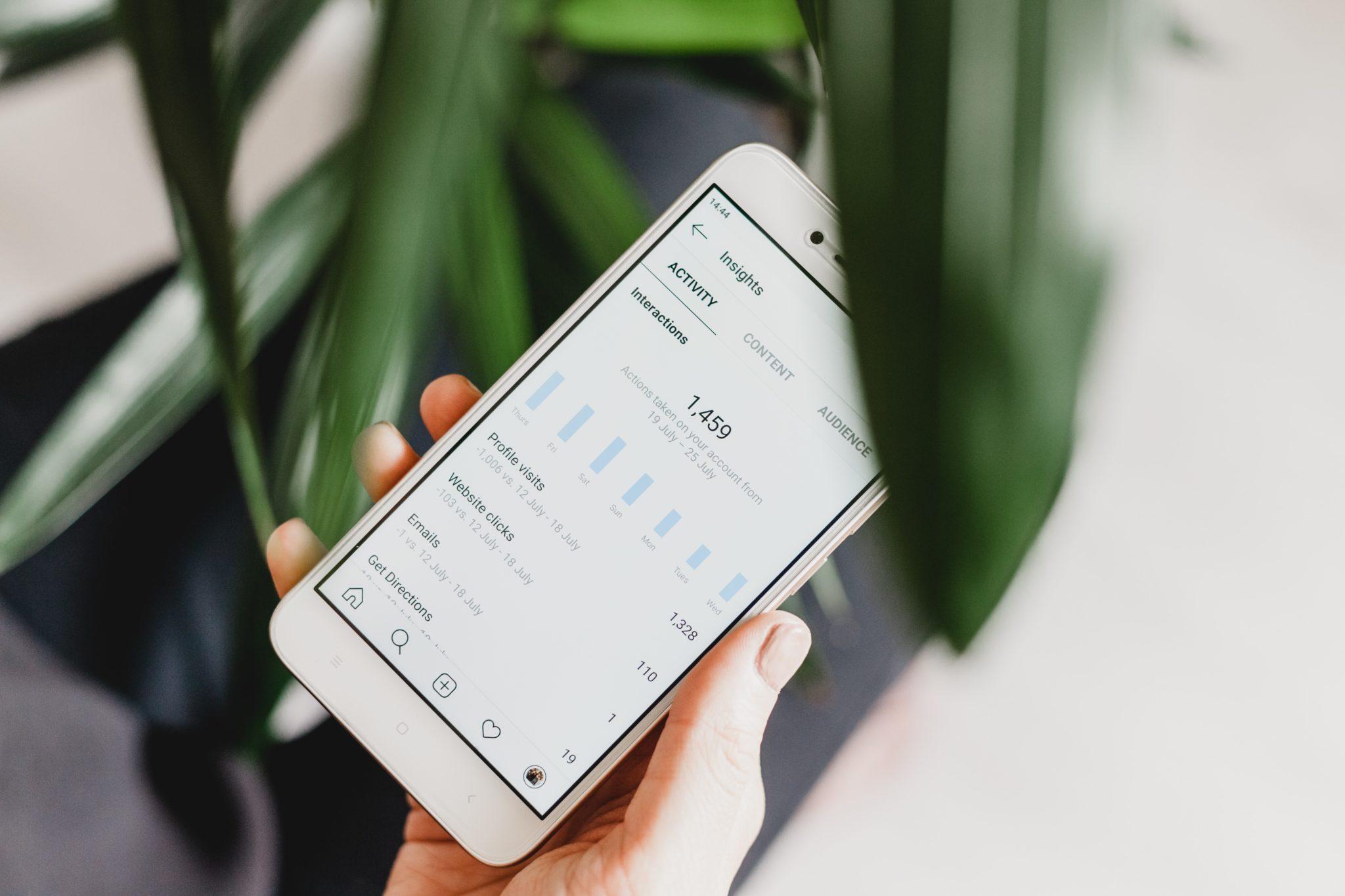 markkinoinnin tulosten seuranta mobiilissa