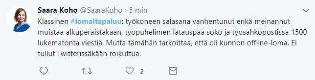 Lomaltapaluu-twiitti4