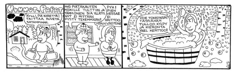 Mummot ja papat -sarjakuva
