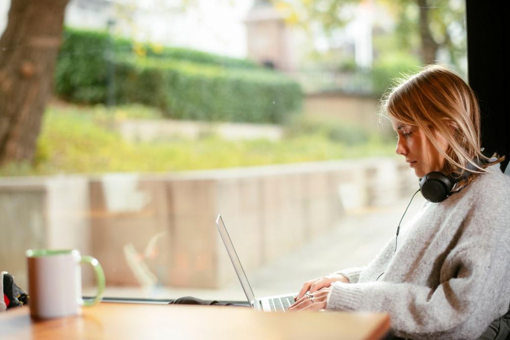 bloggaaja-tyossaan