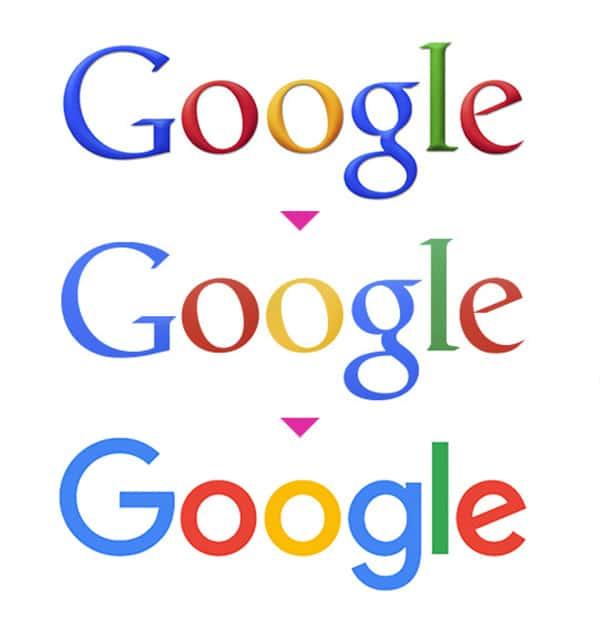 Googlen logon kehitys