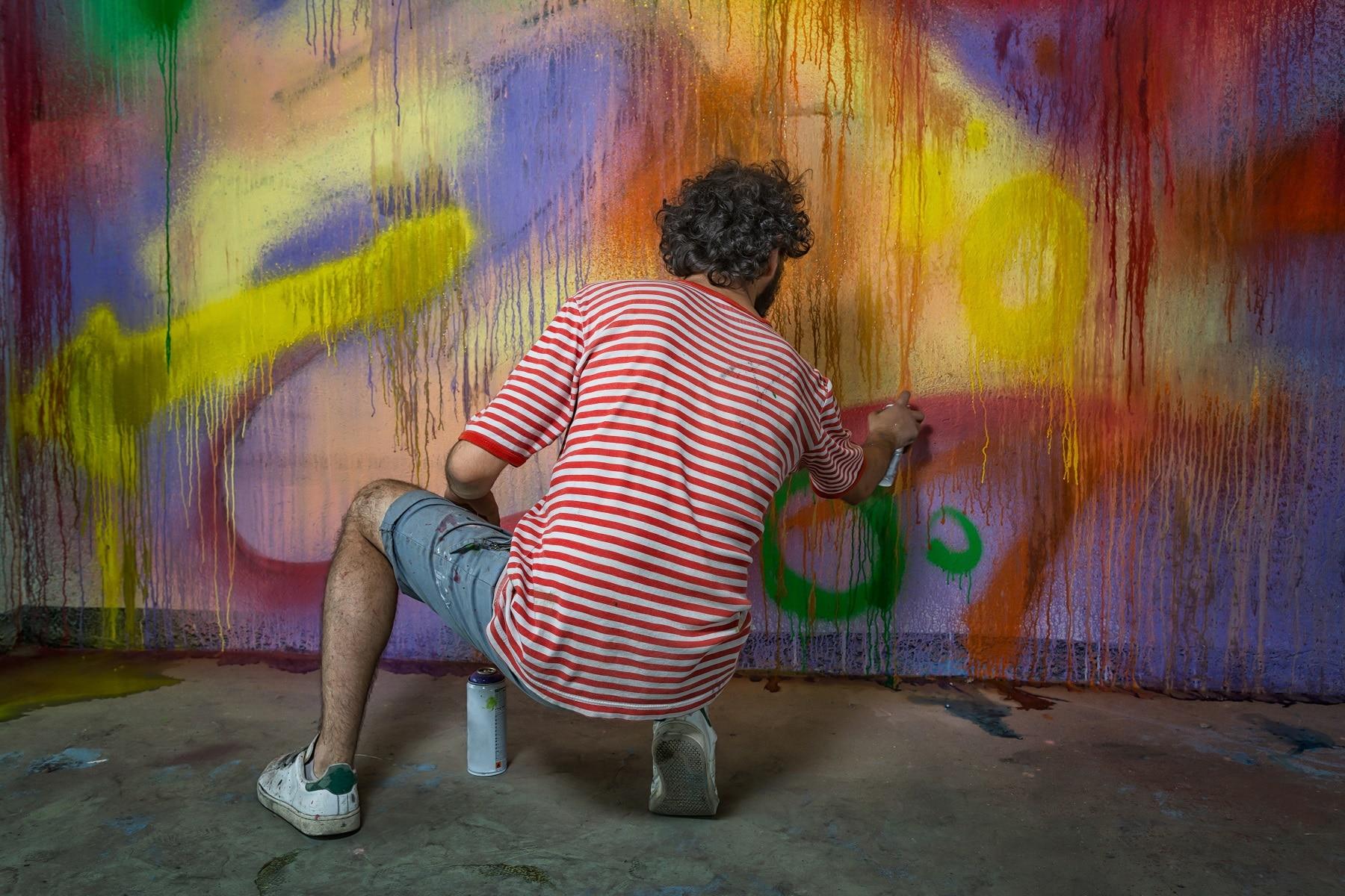 Graffititaitelijalle ei makseta työstä