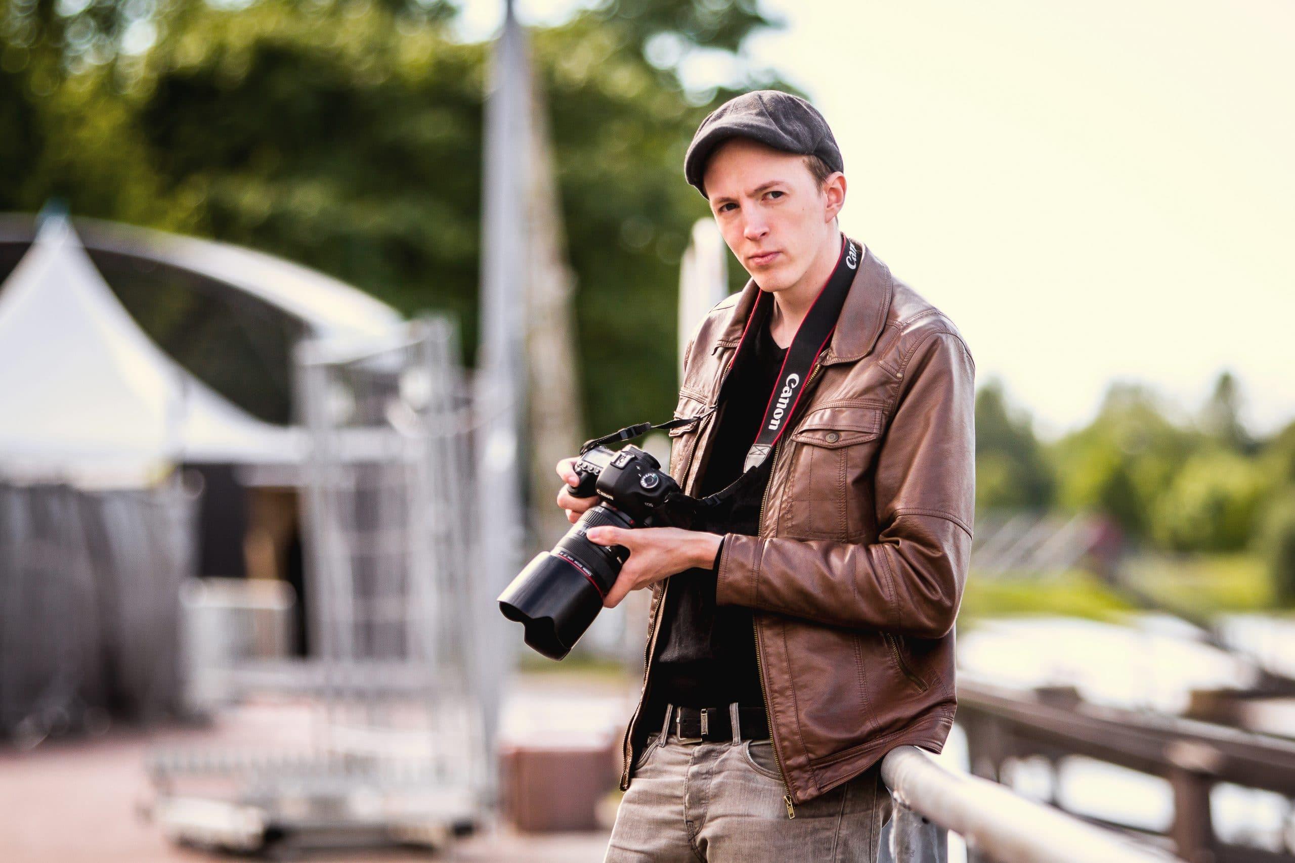 Valokuvaaja Mikael Leppäniemi