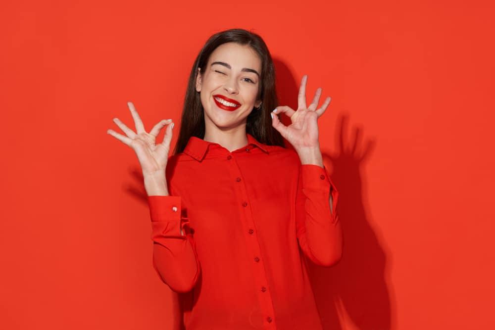 Energinen punainen persoonallisuus
