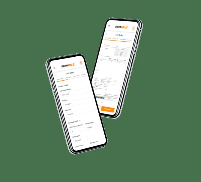 UKKO-Toiminimiyrittäjyys-mobiili-luo-lasku