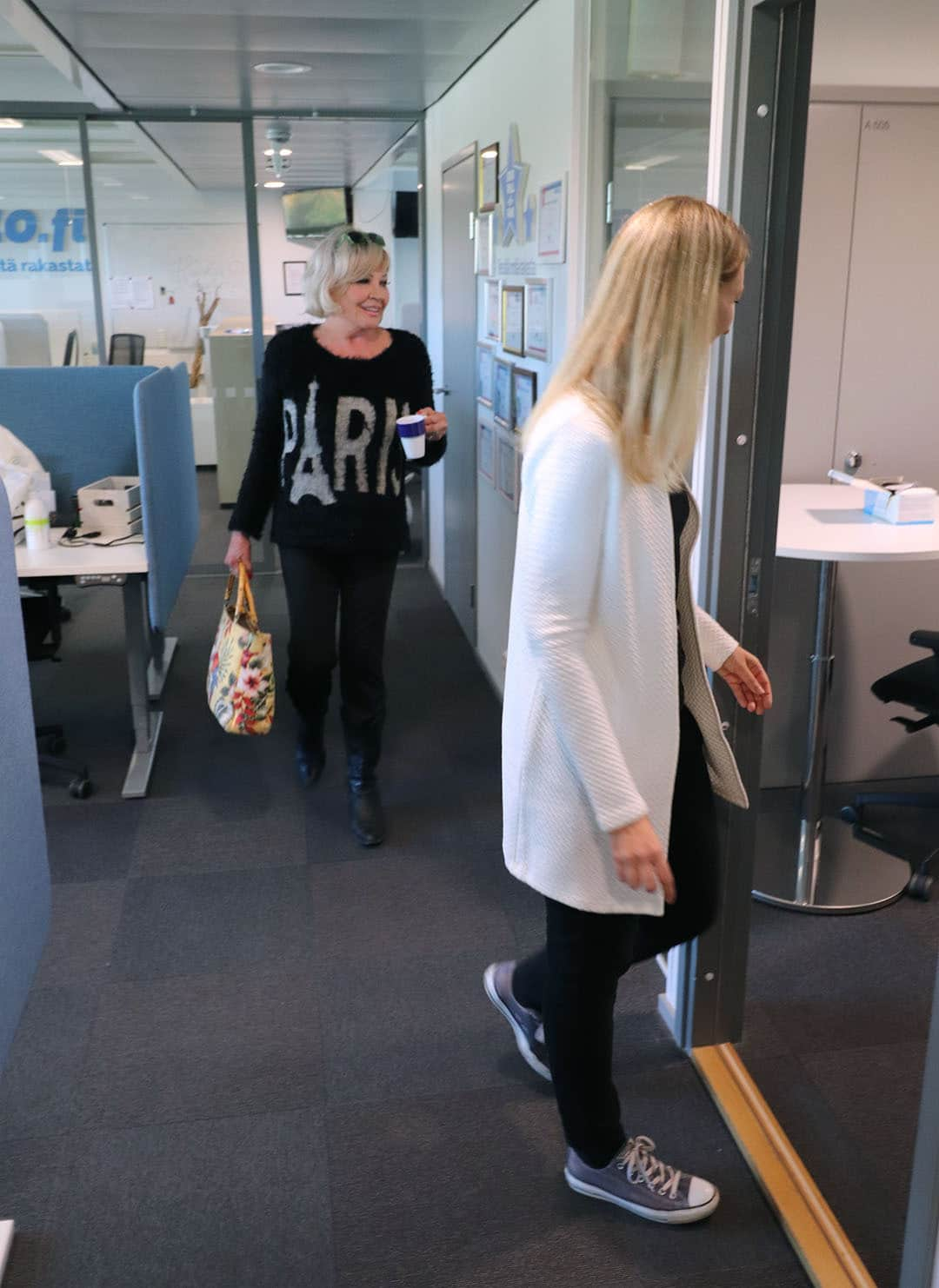 Hannele Lauri on Ukko.fi:n tuore kevytyrittäjä.