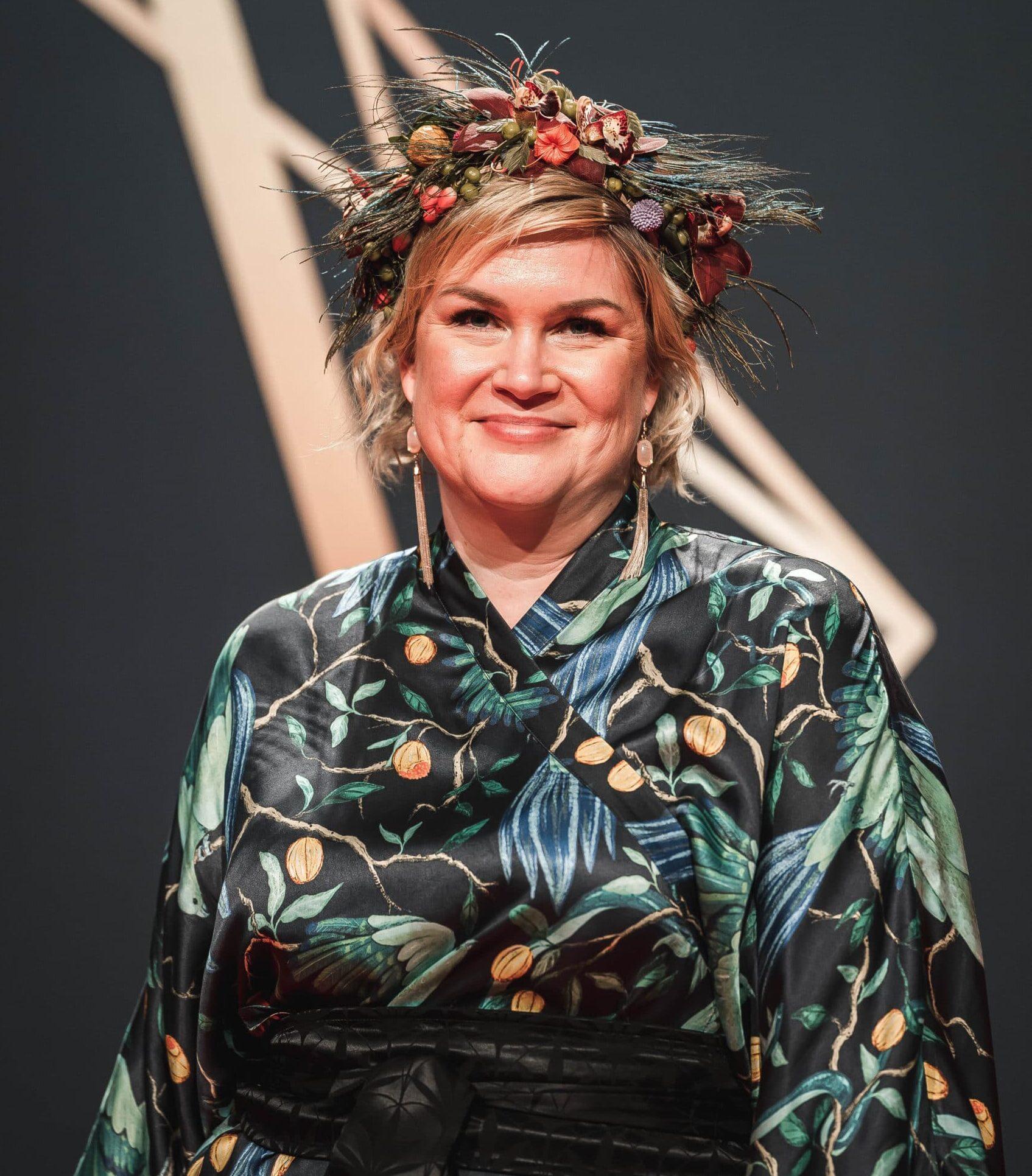 Riina Liukkonen Jussi-gaalassa