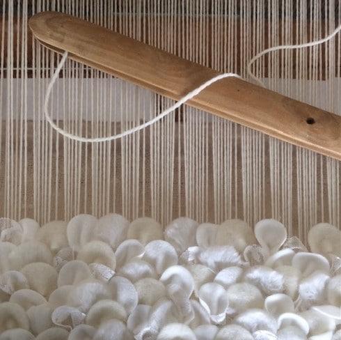 Tekstiilin kudontaa