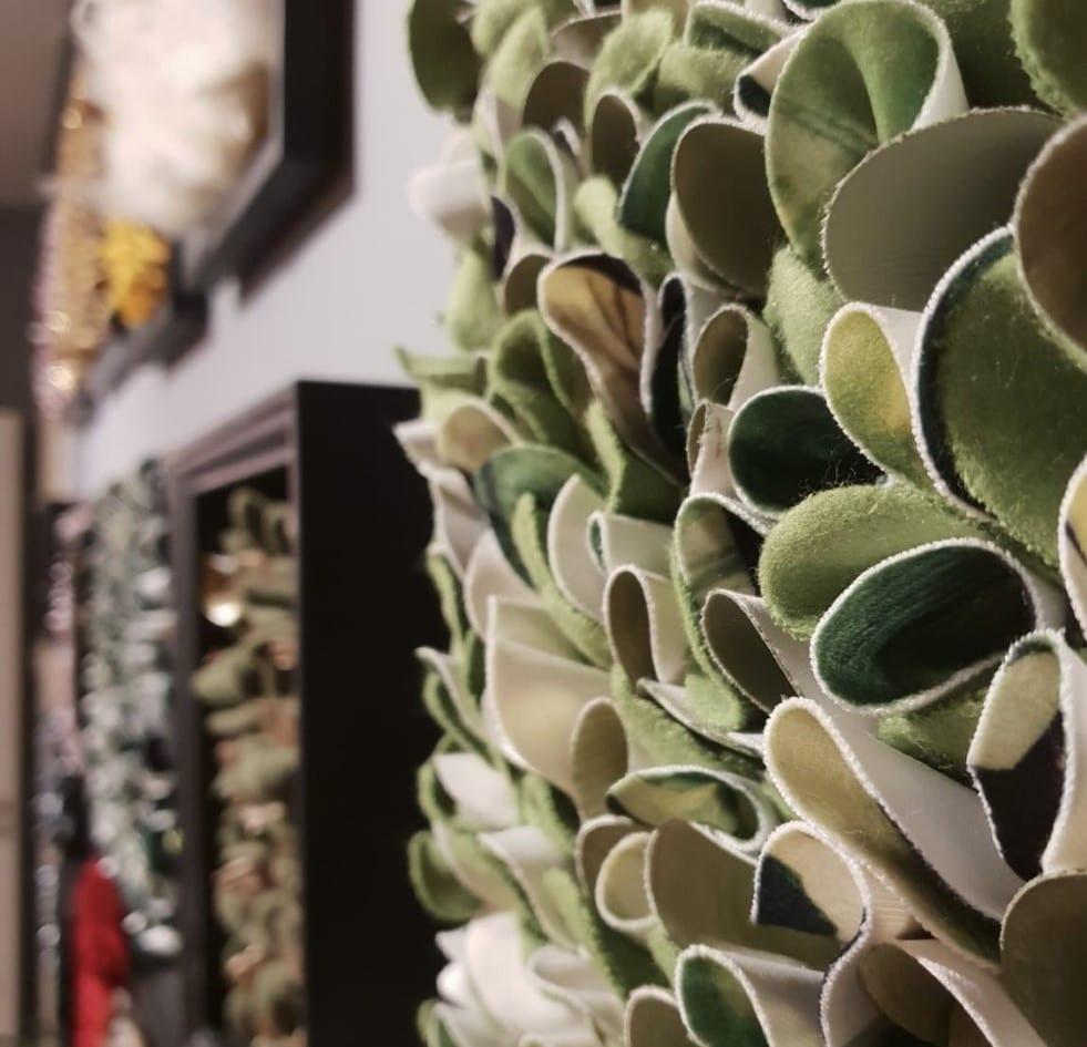 Inspiraatio tekstiiliin tuli luonnon pinnoista